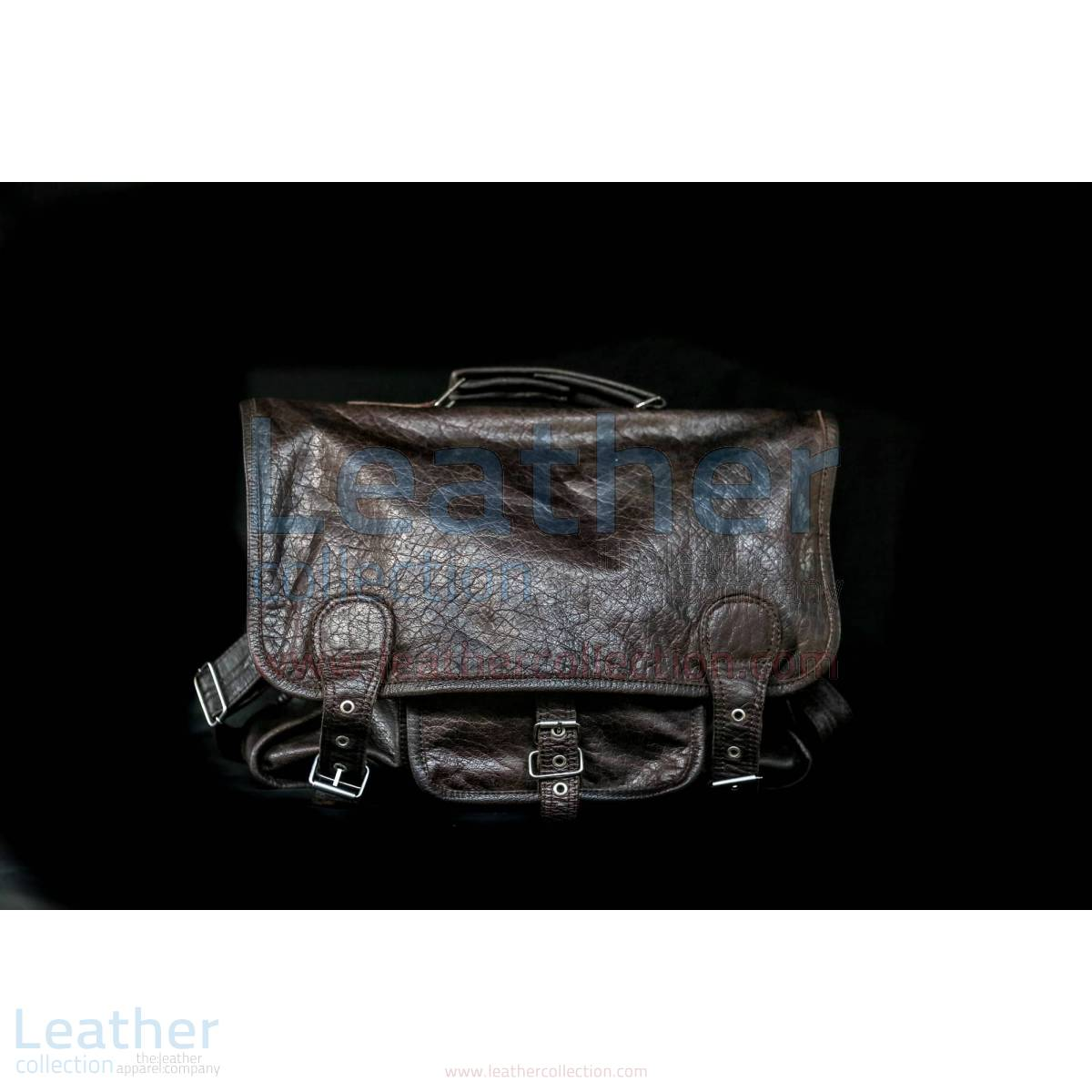 Alexzander Messenger Leather Bag