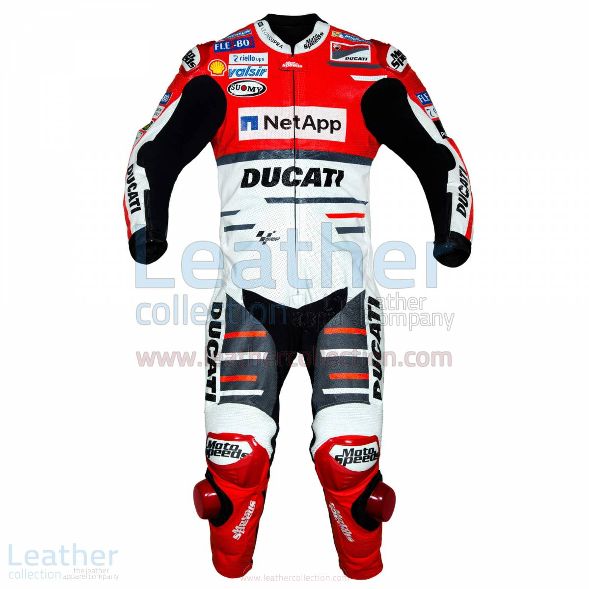 Andrea Dovizioso Ducati MotoGP 2018 Leather Suit