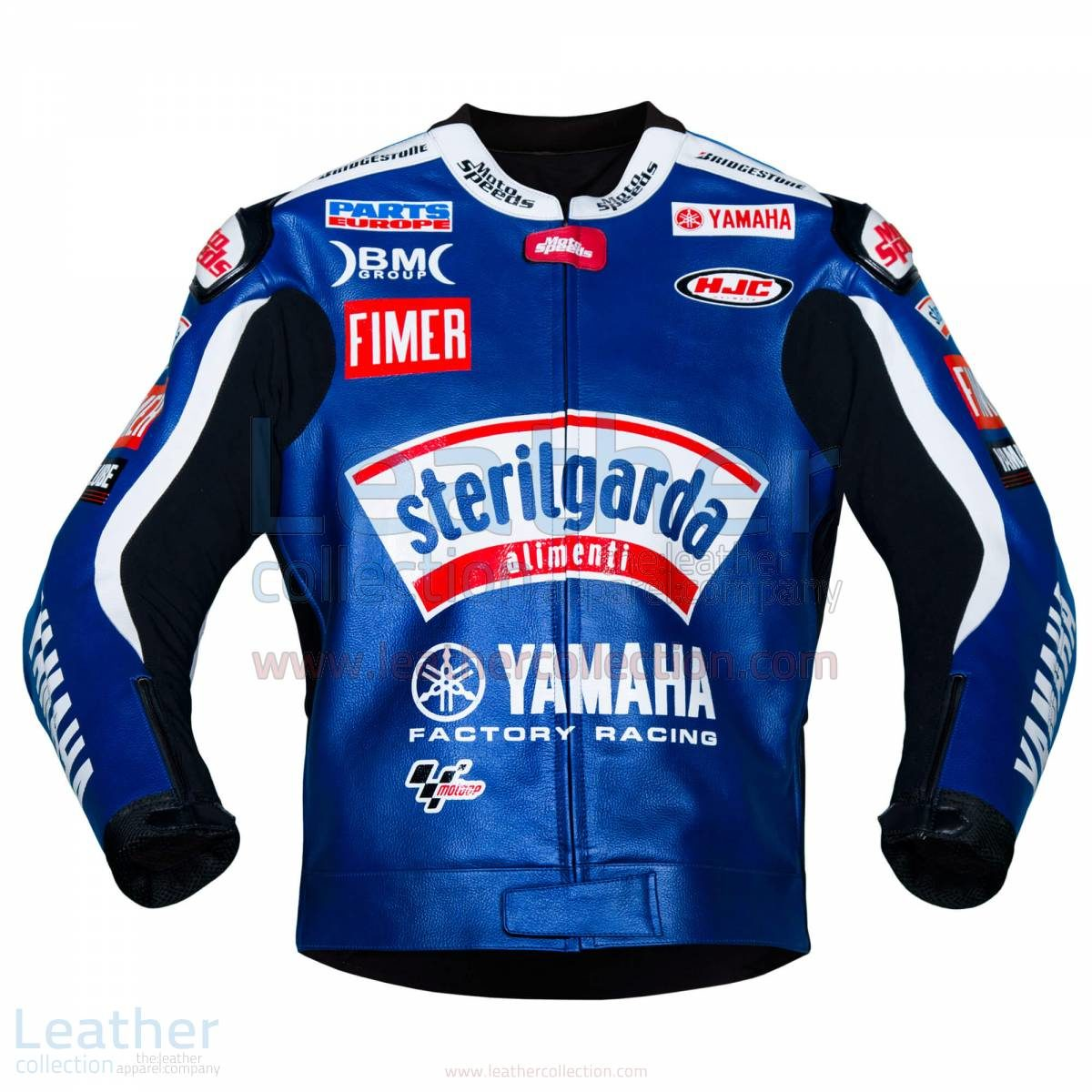 Ben Spies Sterilgarda Yamaha 2009 MotoGP Leather Jacket