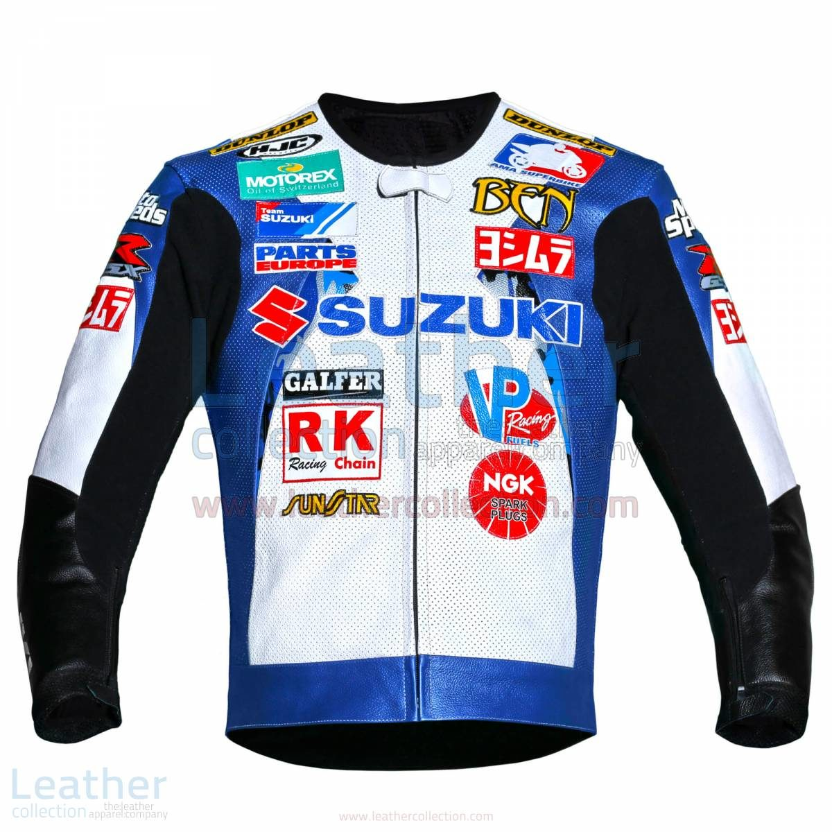 Ben Spies Suzuki Leather Jacket 2006 AMA