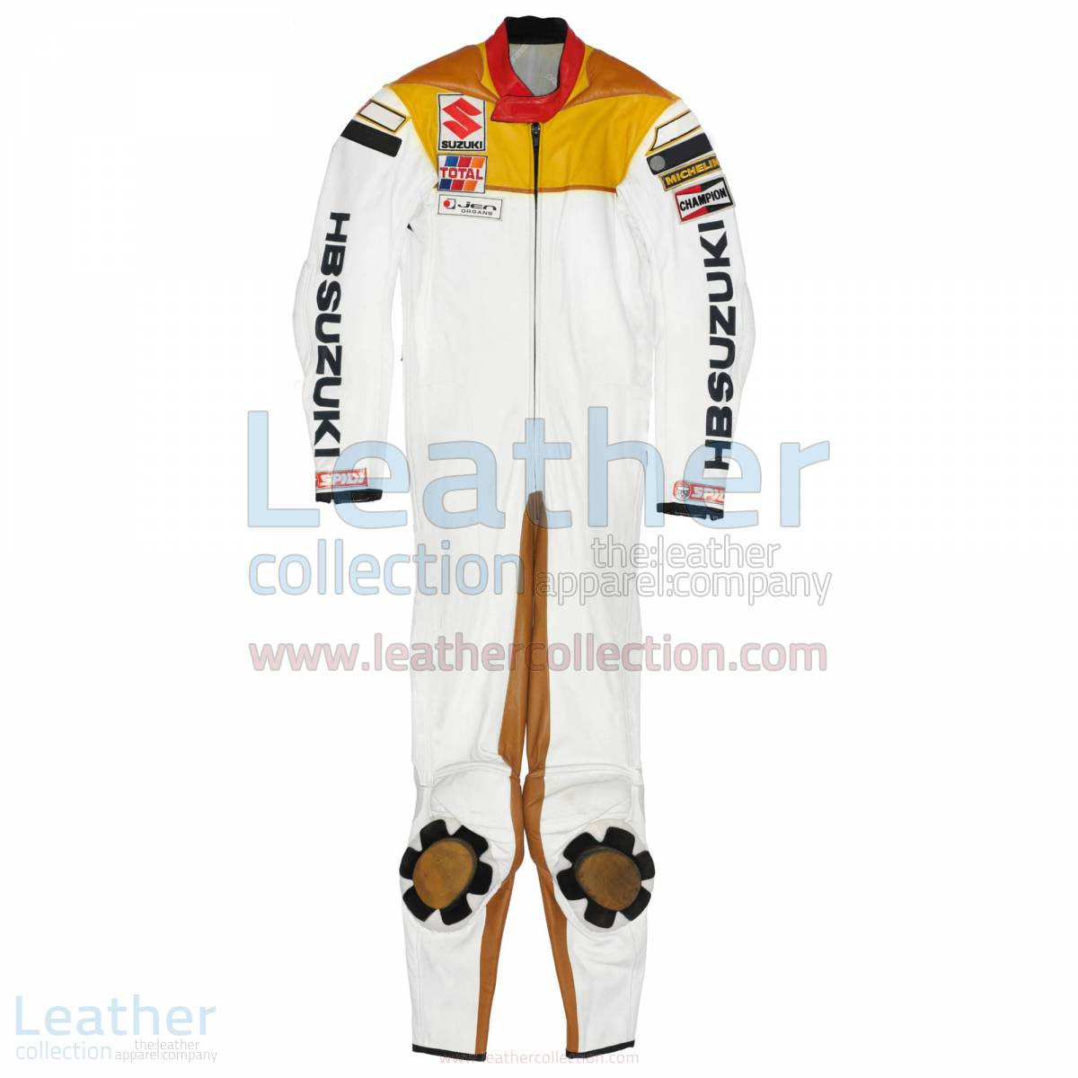 Franco Uncini Suzuki GP 1982 Leather Suit