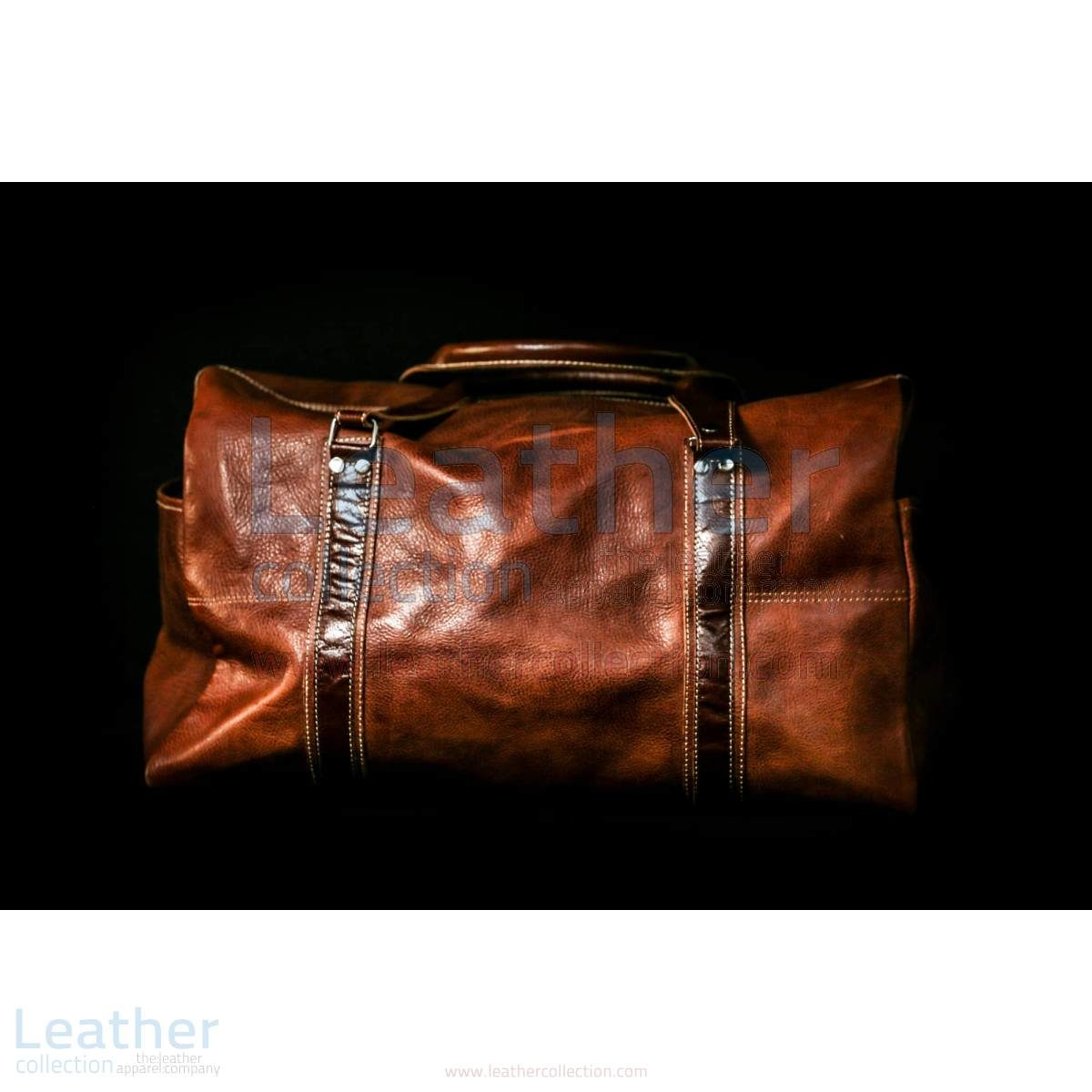 leather hand luggage