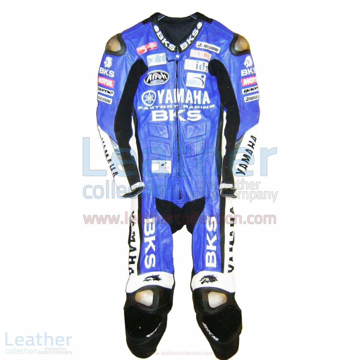 James Toseland Yamaha GP Tuta in Pelle