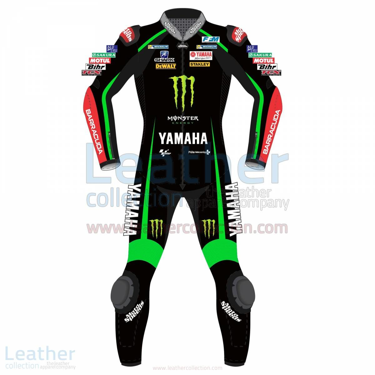 Johan Zarco Yamaha Monster Tech 3 2017 Leather Suit