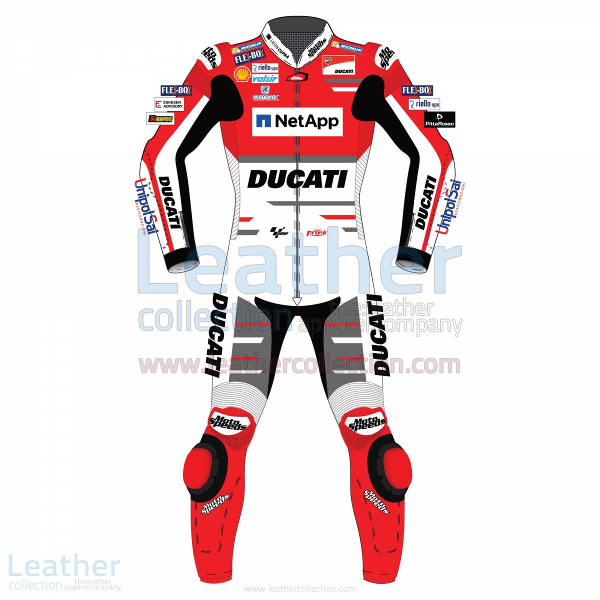 Jorge Lorenzo Ducati MotoGP 2018 Leather Suit