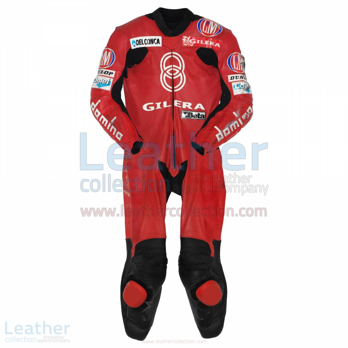 Manuel Poggiali Gilera Motorcycle Race Suit GP 2001