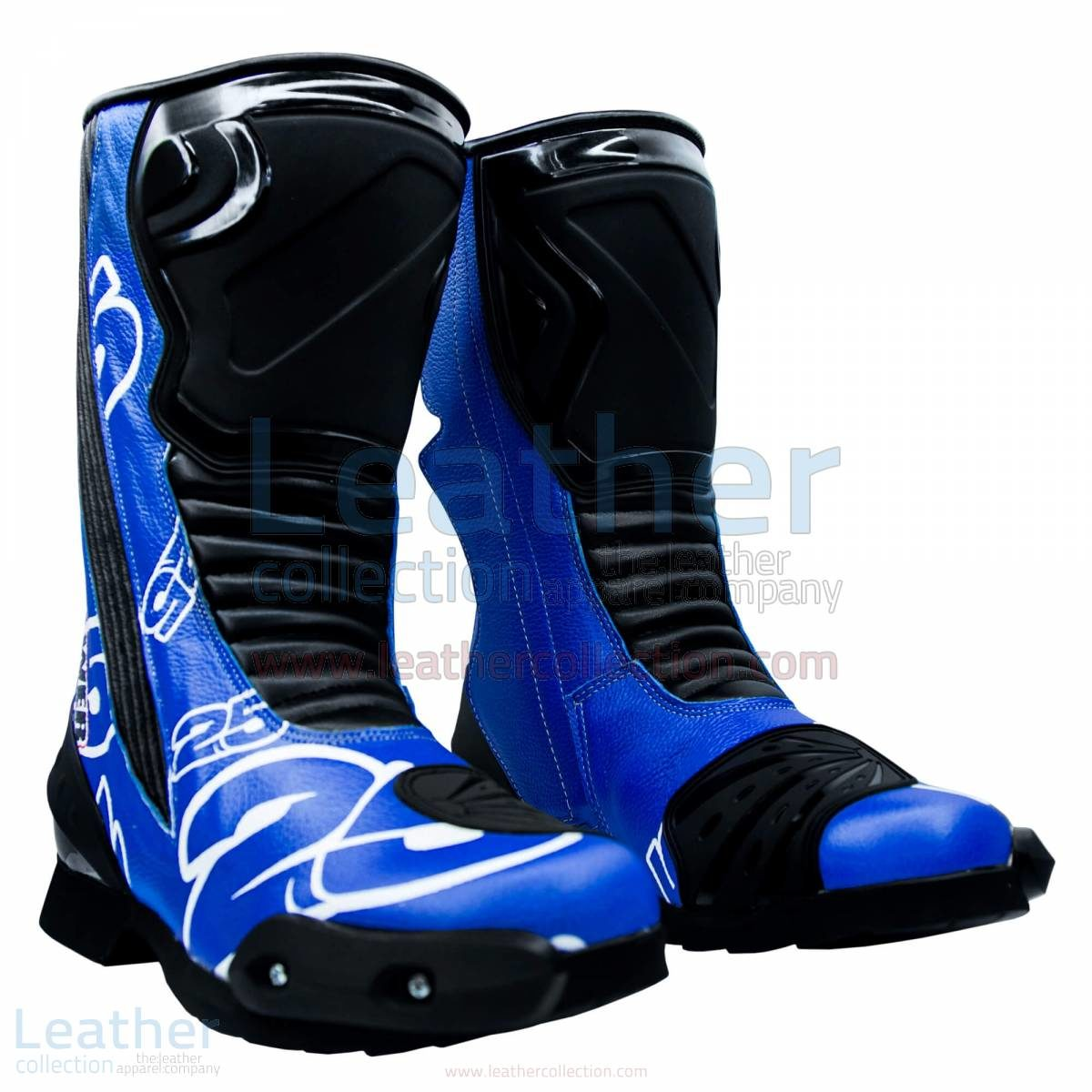 Maverick Vinales MotoGP 2015 Leather Boots