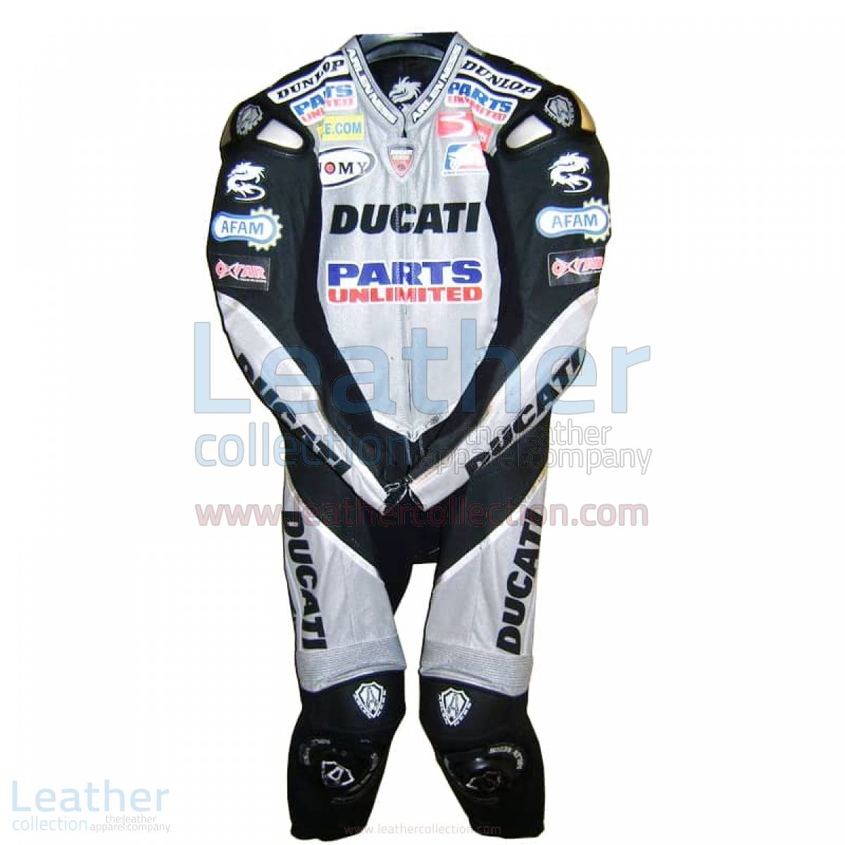 ducati leather suit