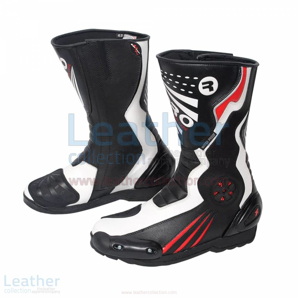 motorbike riding boots