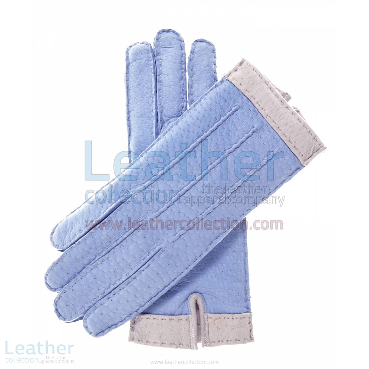 Lambskin Gloves For Women with Wool Lining