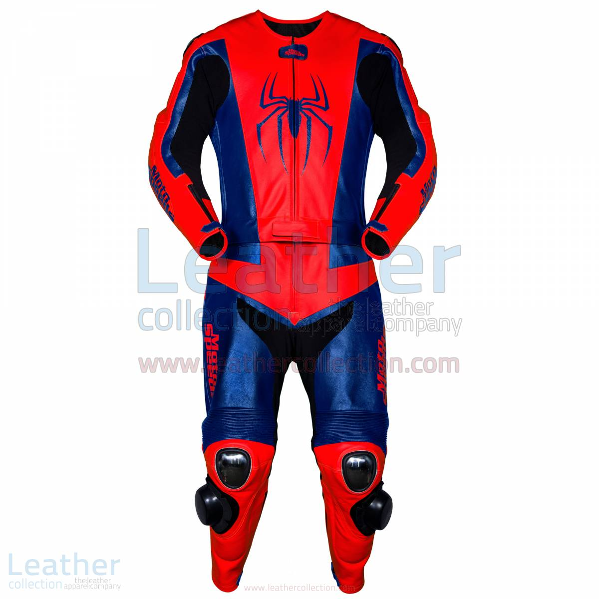 Spiderman Tuta Corsa in Pelle