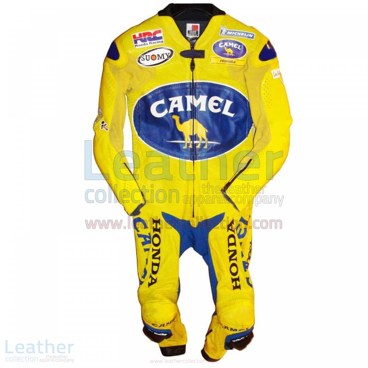 Troy Bayliss Camel Honda GP 2005 Leathers