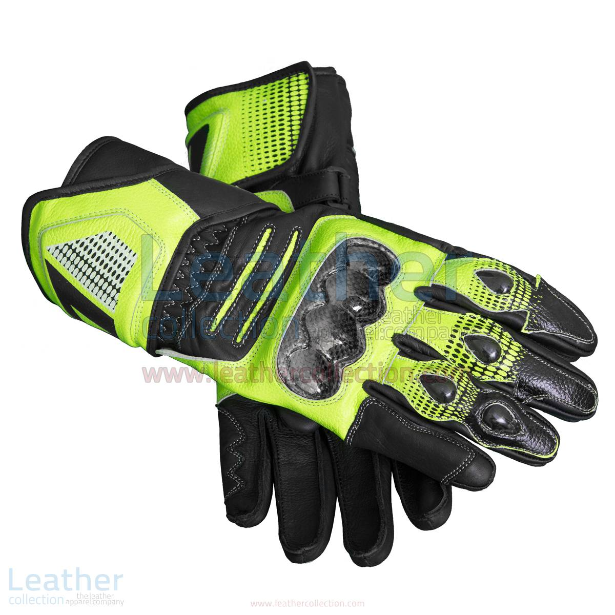 Motorcycle race gloves