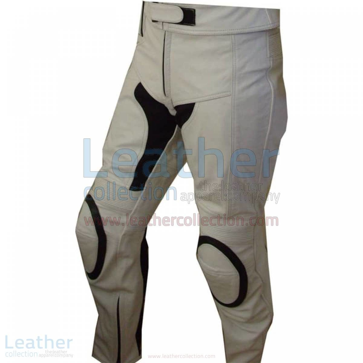 white motorcycle pants