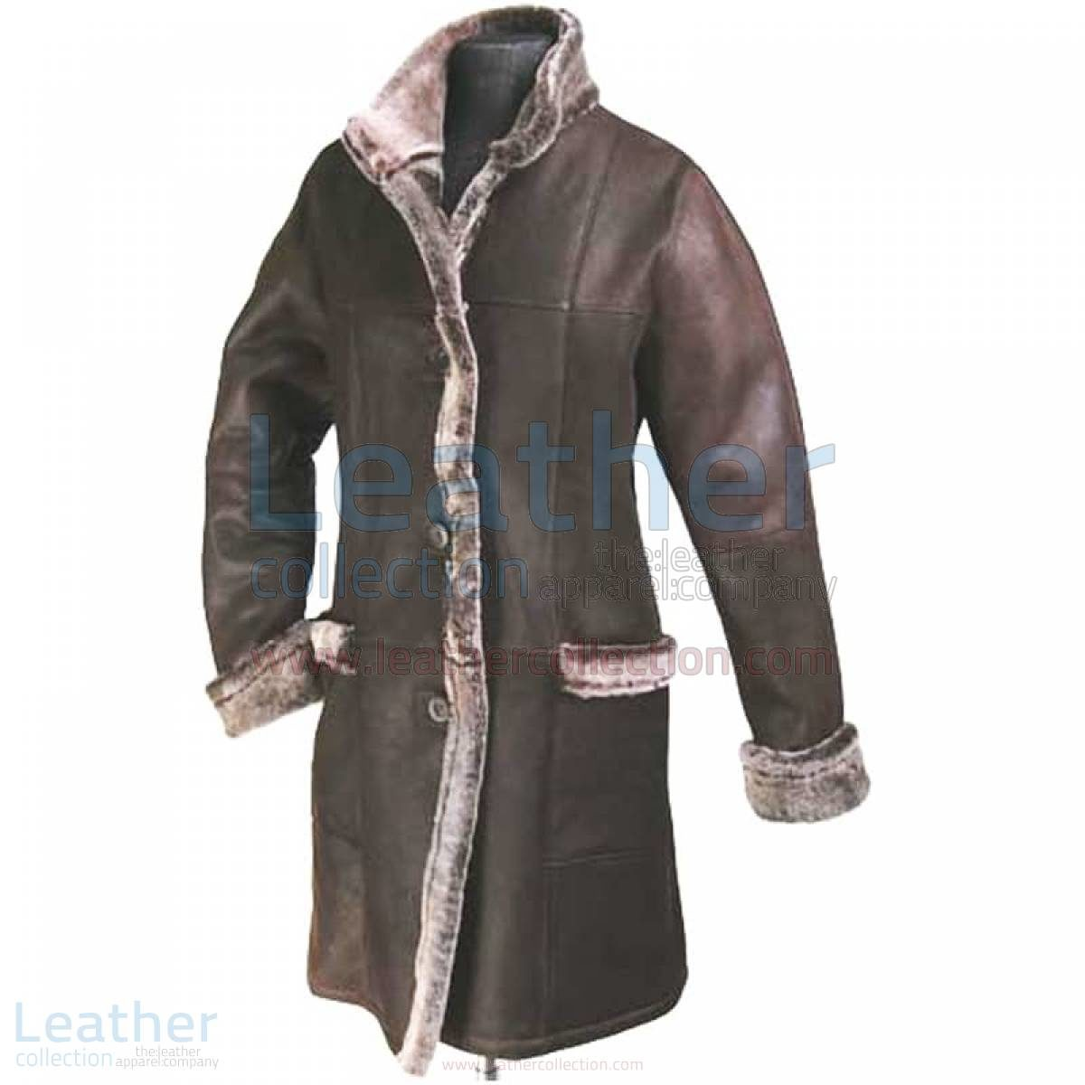 coat with fur lining